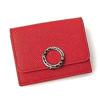 ブルガリ 財布 レディース 288651 レッド/ピンク [並行輸入品]