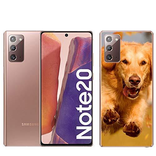Personaliza tu Funda [Samsung Galaxy Note 20] de Silicona Flexible Transparente Carcasa Case Cover de Gel TPU para Smartphone
