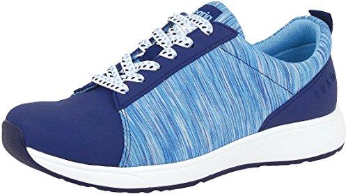 Alegria TRAQ Qest Womens Smart Walking Shoe Blue 7 M US