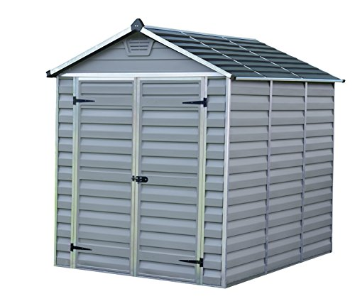 Palram Skylight 6ft Shed (6x8, Grey)