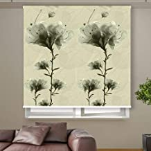3D Roller Curtain Flowers 120 * 200 cm 9952, Multi Color, Mixed Material