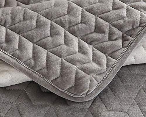 SHIM Las Fundas de cojín del sofá Living Color Gris cojín del Asiento sofá Minimalista Moderna Cubierta de la Toalla es 45x45cm Taie