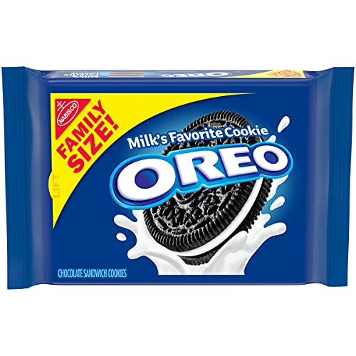 OREO Chocolate Sandwich Cookies, Family Size, 3.1 oz