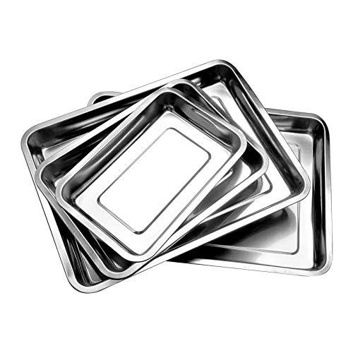 1 Stück Hochwertig Edelstahl BBQ Grillplatte Grillschale Gemüse