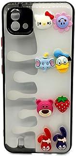 Back Cover Cartoon 3D Toys For Realme C11 2021 - Black