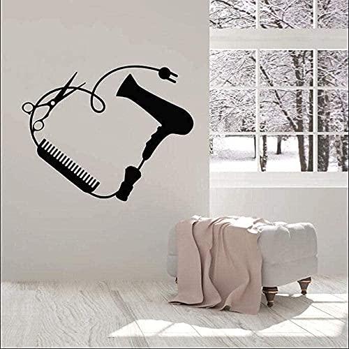 TJVXN Pegatinas de Pared Pegatinas de Arte Decoración del hogar Dormitorio Decoración de baño 42X28Cm
