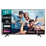 Hisense 43AE7000F UHD TV 2020 - Smart TV Resolución 4K con Alexa integrada, Precision Colour, escalado UHD con IA,...