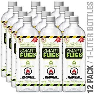 SMARTFUEL Bio-Ethanol Fireplace Fuel : 1 Case (12 liters)