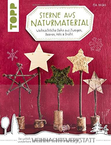 Sterne aus Naturmaterial (kreativ.kompakt): Weihnachtliche Deko aus Zweigen, Beeren, Holz & Draht