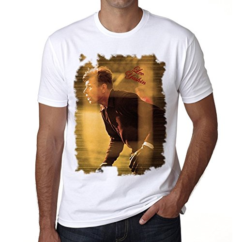 Lev Yashin T-shirt,cadeau,Homme,Blanc, XXL,t shirt homme
