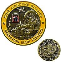 作戦セントジョージイラク自由第82空挺師団軍事闘争記念コインコレクション