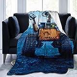 QWEQW Wall-E Blanket Super Soft Velvet Warm Fluffy Blankets, Children's Blanket, Easy to Maintain, All Season Quality50 x40