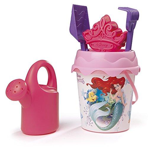 Princesas Disney- Cubo de Playa Completo (Smoby 862046)