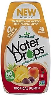 SweetLeaf WaterDrops, Tropical Punch, 1.62 Fl Oz (Pack of 1)