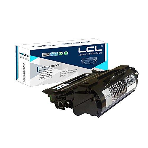 LCL T650A11E T650A21E T650 T652 T654 (1-Pack Nero) Cartucce di Toner Rigenerate Per Lexmark Laser Printers T650, T650n, T650dn, T650dtn, T652