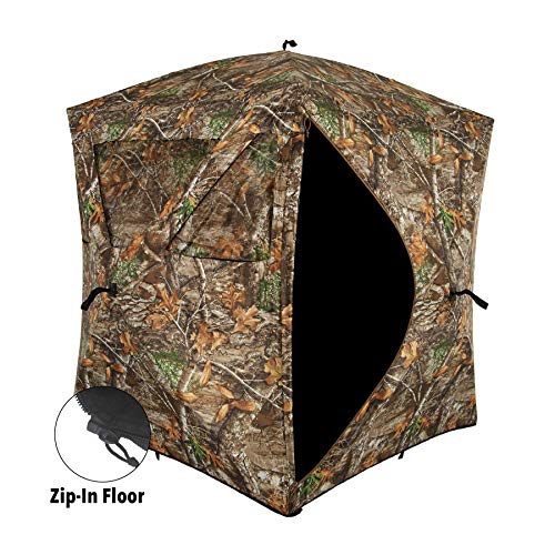 Ameristep Caretaker Ground Blind with Zip-in/Out Floor