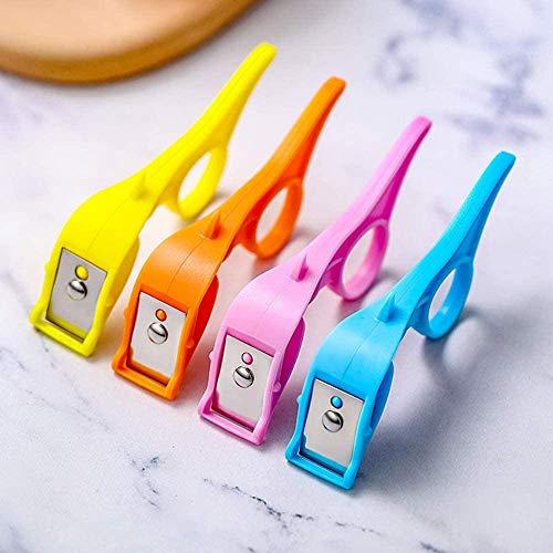 Fast Finger Ring Fruit Peeler - Multi-Purpose Hand Apple Peeler 2 in 1, Portable Palm Peeler for Fruits and Vegetables