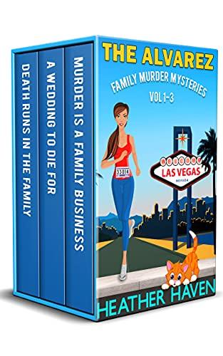 The Alvarez Family Murder Mysteries: Vol 1-3 (English Edition)