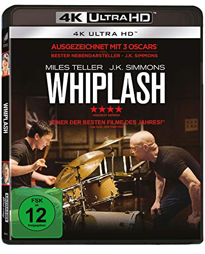 Whiplash (4K UHD) [Blu-ray]