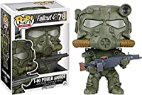Funko Pop Fallout: Green T-60 Power Armor Collectible Figure, Multicolor