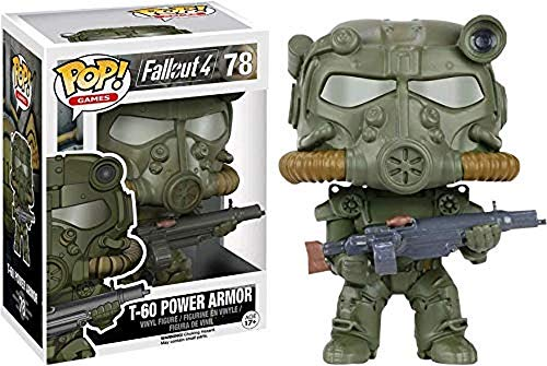 Fallout - Pop Vinyl: Figura T-60 Green Power Armor Limited Edition (Funko FUN8712)