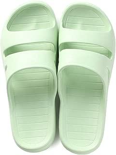 KKCD-slipper Zapatillas de baño para Mujer Pantuflas con Secado Rápido, para Hombre Abierto Anti Deslizante del Dedo del Pie Zapatos De La Casa De Baño, EVA Sole,E,37/38