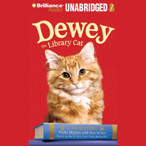 Dewey the Library Cat audiobook cover art