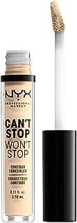 NYX Professional Makeup Can't Stop Won't Stop Contour Concealer, Pale 01