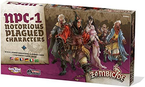 Zombicide: Black Plague Asmodee – Brettspiel / Spielfiguren