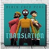 Posters Black Eyed Peas - Übersetzung Cover Leinwand Dekor