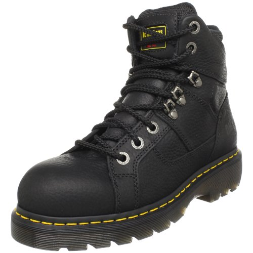 Dr. Martens - Men's Ironbridge Steel Toe Heavy Industry Boots, Black,...