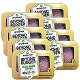 Beyond Meat Burger | Hamburguesa 100% Vegetal | Plant Based | Sin Gluten | Sin Soja | Vegano | 2 porciones (227g) (Pack de 8)