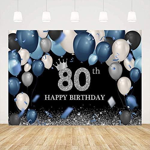 80th birthday background _image2