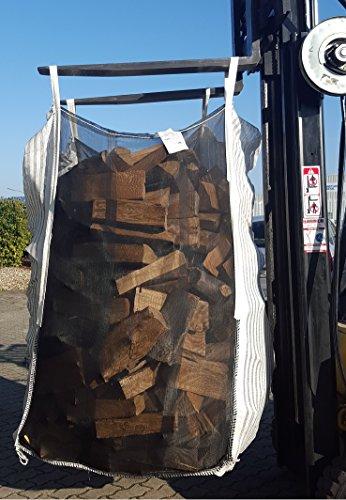 Ixkes Industrieverpackung TOP Qualität direkt vom Hersteller +++ 10er Pack HolzBag 160cm, Kaminholzsack/Brennholzsack/Woodbag direkt vom Hersteller