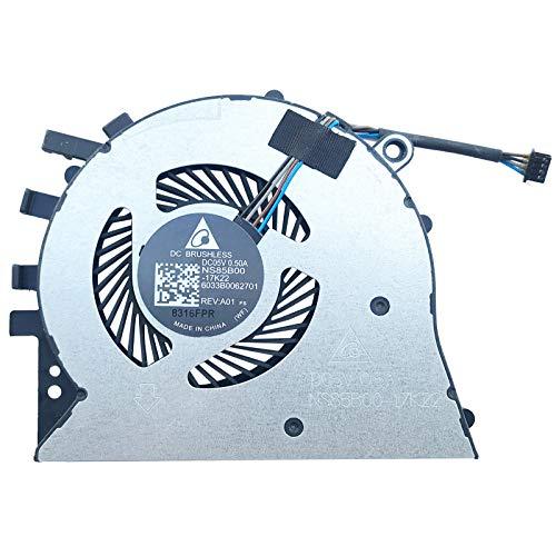 Price comparison product image Fan Cooler Compatible with HP 17-by0017ng,  17-by0221ng,  17-by0406ng,  17-by1220ng,  17-by0016ng,  17-by0200ng,  17-by0400ng,  17-by1115ng,  17-by0014ng,  17-by0212ng