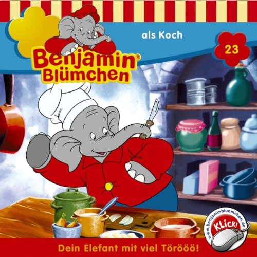 Benjamin als Koch cover art