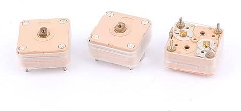 50 Pcs 6mm Par Trou Tondeuse Variable Condensateurs 40pF Jaune
