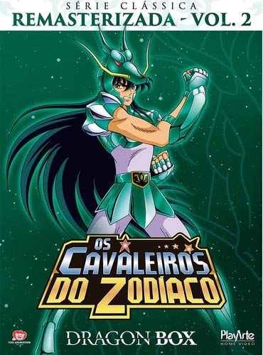 Os Cavaleiros do Zodiaco Serie Classica Remasterizada Volume 2 Dragon Box [DVD]