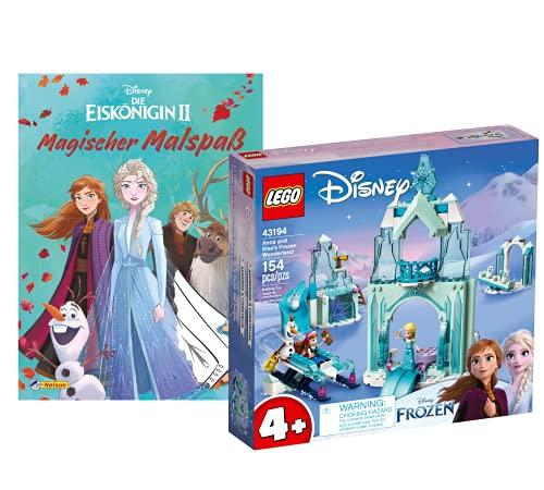 Collectix Lego 43194 - Juego de figuras de Lego, diseño de princesa de Annas y Elsas
