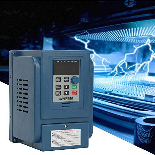LONGWDS Controlador de Velocidad Accionamiento de frecuencia Variable, Controlador de Velocidad VFD de la Unidad VFD de 380VAC 6A para el Motor de Velocidad 32KW de 3.2kW