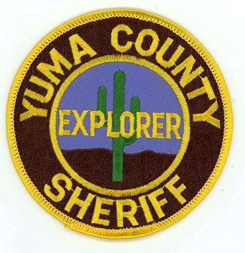 Yuma County Sheriff Arizona AZ Explorer Patch Police