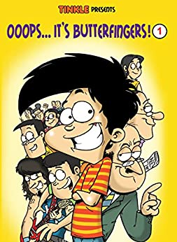Ooops… It's Butterfingers! Volume -1 (Tinkle Collection) by [Luis Fernandes]