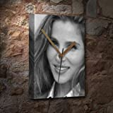 ELSA PATAKY - Canvas Clock (A4 - Signed by the Artist) #js00