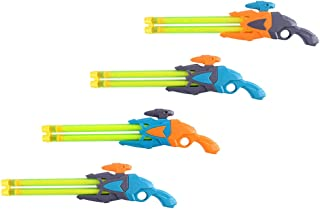 TOYANDONA 4pcs Water Blaster Kids Water Funny Soaker Toy Water Blaster Shooter Swimming Beach Pool Bath Toy Party Favors R...