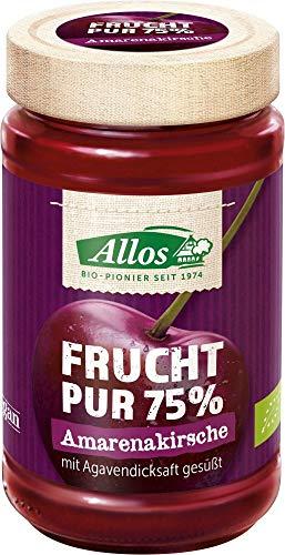 Allos Bio Frucht Pur 75% Amarenakirsche (6 x 250 gr)