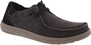 Skechers Men's Melson - Raymon Canvas Slip on Moccasin