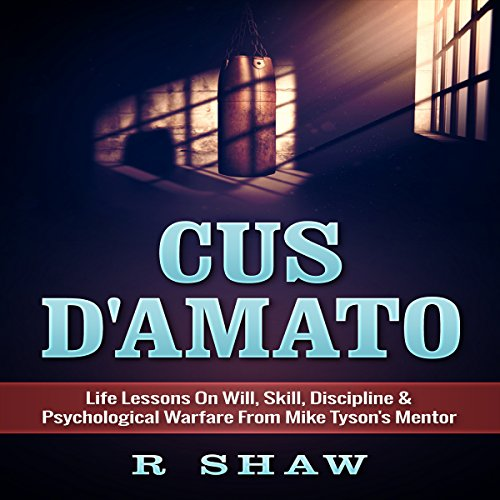 Cus D'Amato audiobook cover art