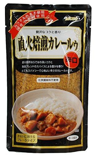 ムソー 直下火焙煎カレールゥ(辛口) 170g ×2セット