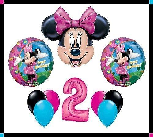 Disney Minnie Mouse Clubhouse  2  Happy Birthday Balloon Set Party Decoration by Balloon Emporium