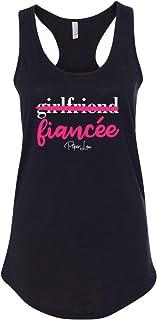 بايبر لو - صديقات FIANCÉ قميص بدون أكمام مثالي للظهر